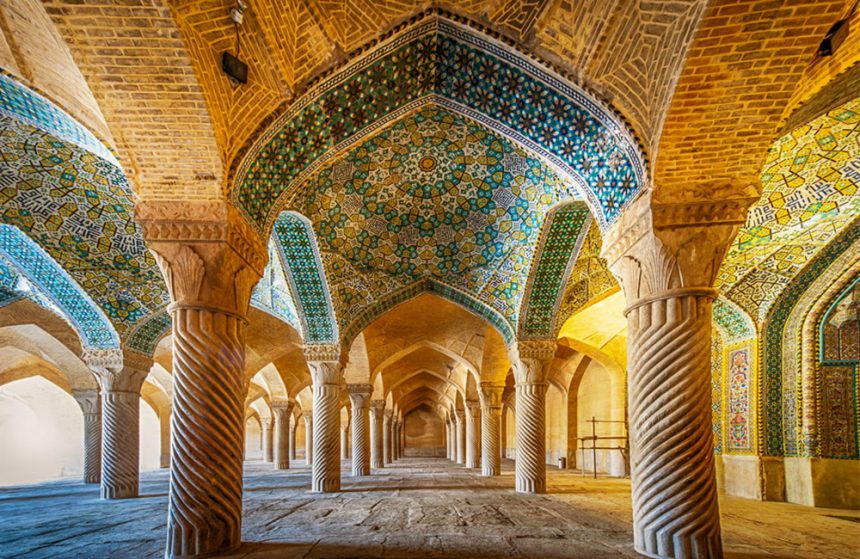 The Stunning Persian Vakil Mosque in Shiraz, Iran