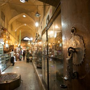 The Grand Vakil Bazaar of Shiraz, Iran