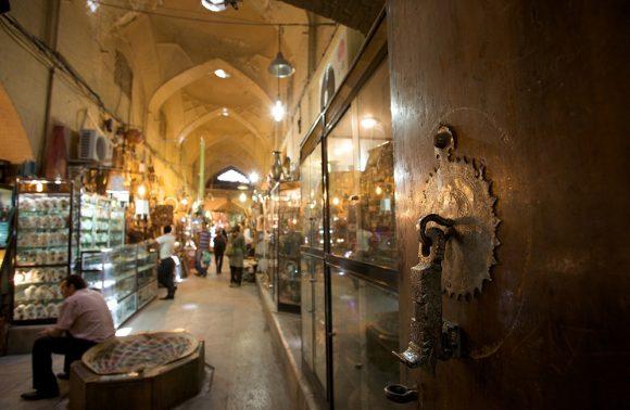 The Grand Vakil Bazaar of Shiraz, Iran