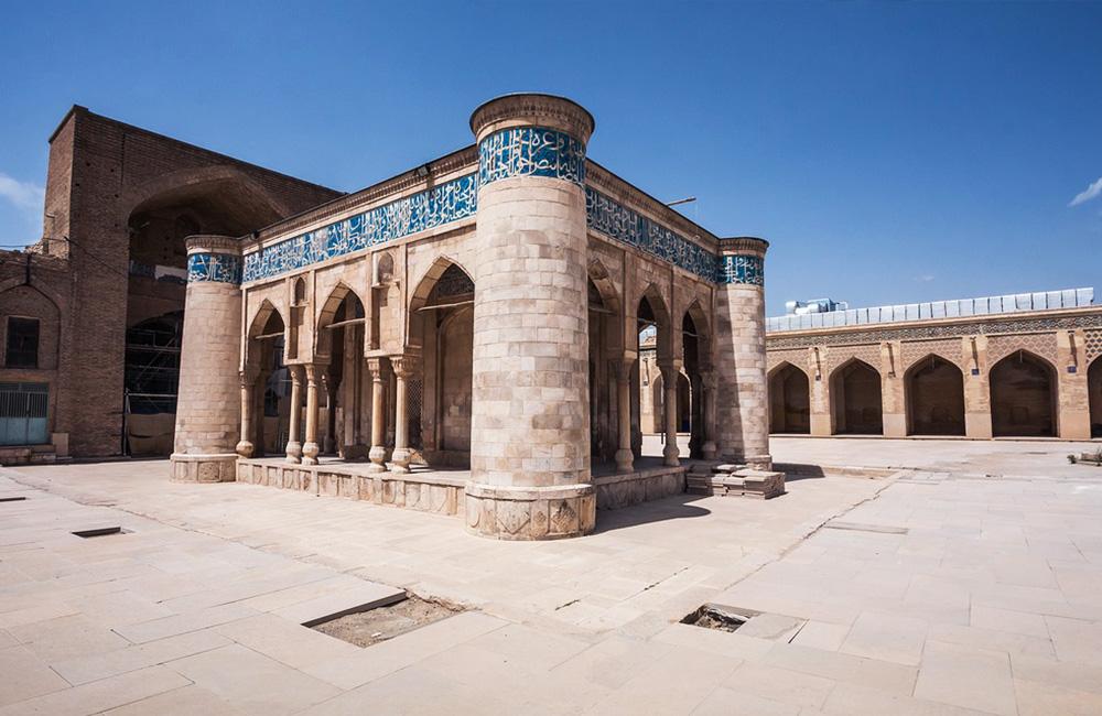 The Antiquated Atigh Jame Mosque in Shiraz, Iran