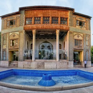 The Lush Delgosha Garden in Shiraz