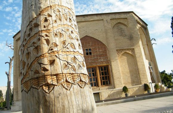 The Historical Jahan Nama Garden in Shiraz