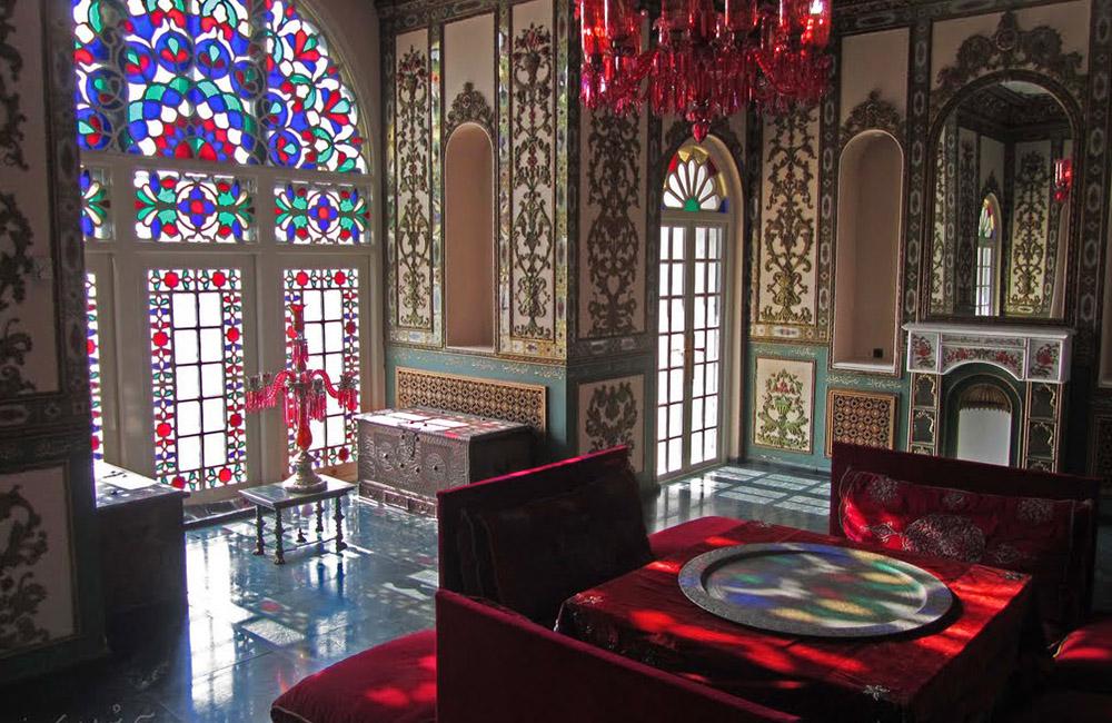 The Royal Niavaran Complex in Tehran, Iran